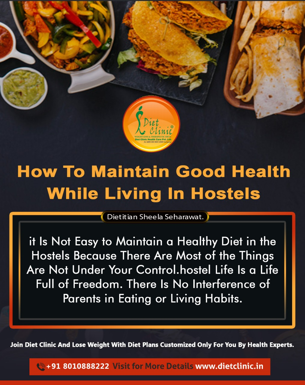 How to maintain good health while living in hostels