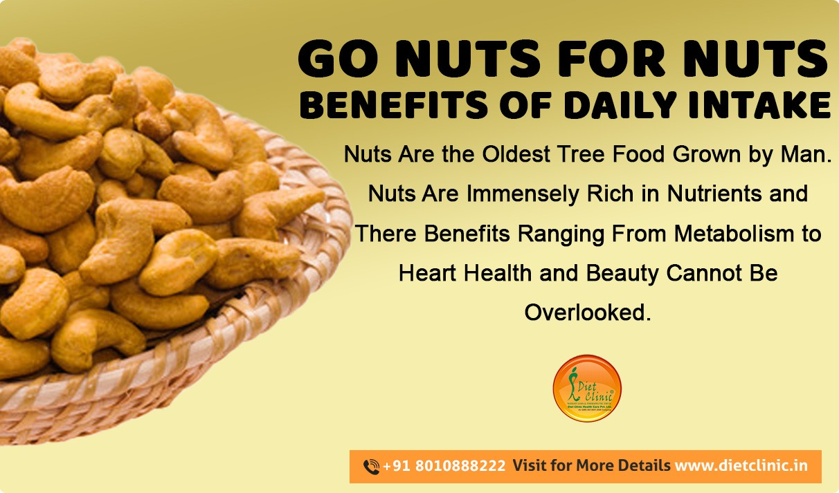Go nuts for nuts benefits of daily intake