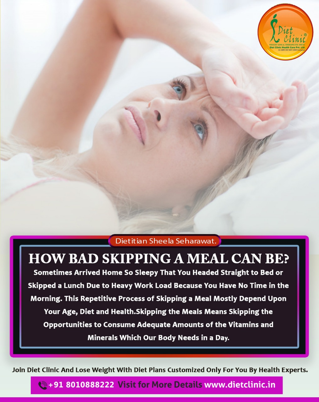 How bad skipping a meal can be